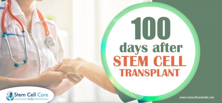 100 days after stem cell transplant